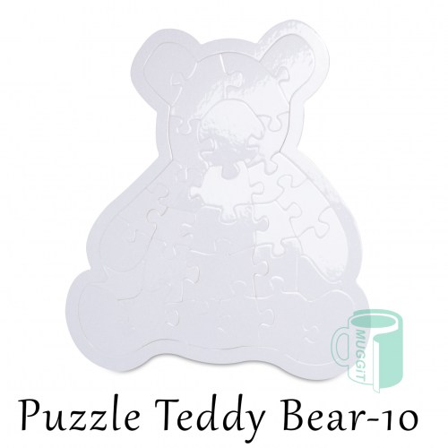 Puzzle Teddy Bear-10